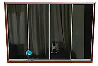 Раздвижная система для сборки шкафа купе на 4 двери.Ручка АА114. Габариты 3600(Ш) х 2200(В)