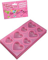 Формочки для льда Tonga - Heart Shaped Ice Cube Tray (T160332 )