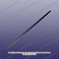 Уплотнитель стекла задний правый наружный (хром) (оригинал) T11