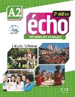 Echo A2, 2e édition. Livre + DVD-Rom + livre-web