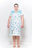 Женская ночная сорочка большой размер
