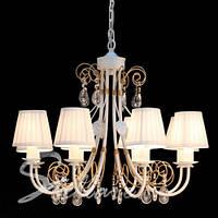 Люстра 8-ми ламповая, классическая, для зала
