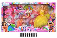 Кукла с одеждой и аксессуарами в коробке