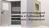 Щкаф под электронный счетчик и 8 автоматов