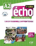 Echo A2, 2e édition. Cahier d'exercices + CD audio