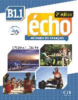 Echo B1.1, 2e édition. Livre + DVD-Rom + livre-web