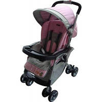 Прогулочная коляска Everflo E-301 (pink/grey)