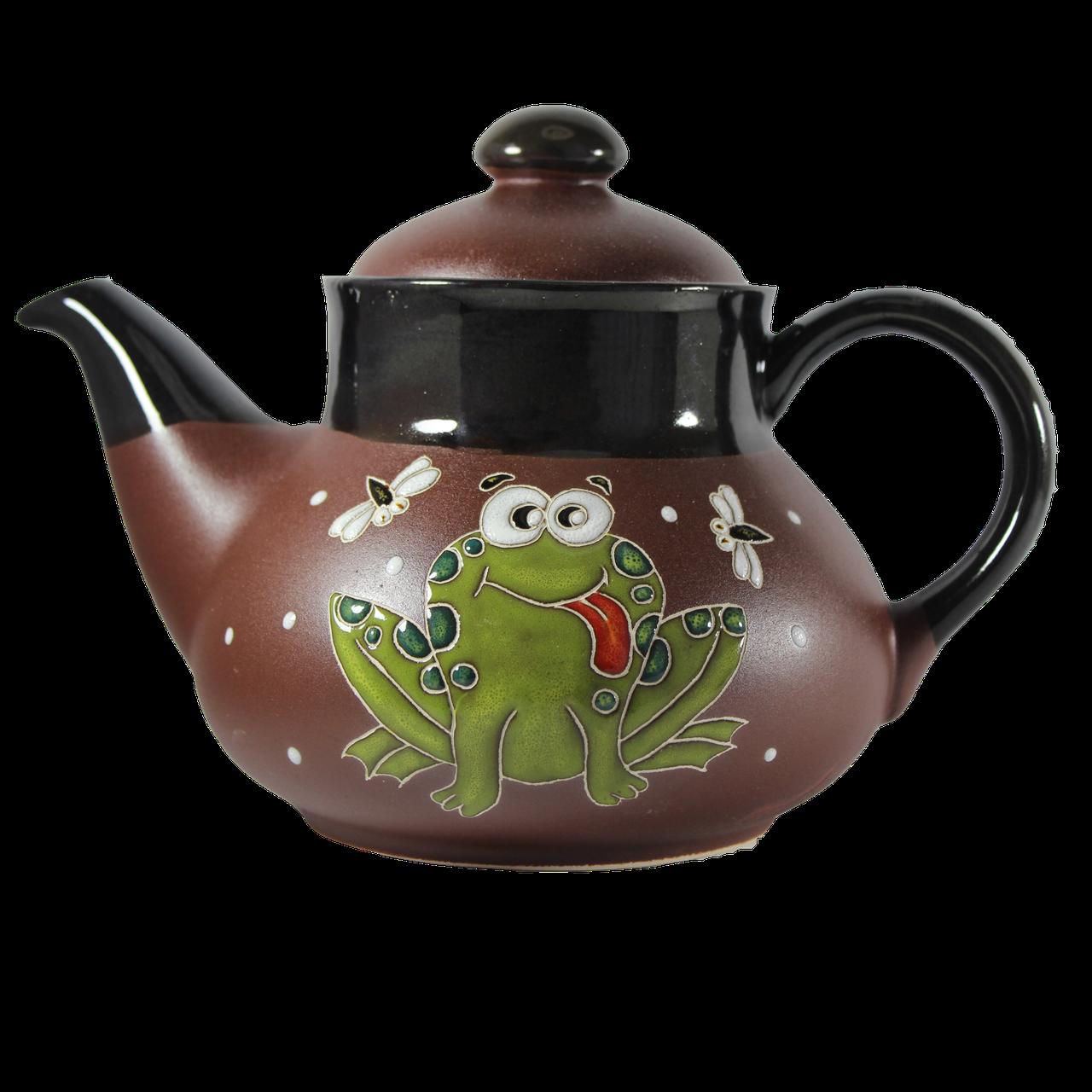 """Чайник керамический """"Лягушка большая"""""""