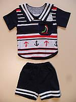 Футболка и шорты для мальчика 1,6 - 2года