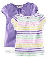 Детские футболки для девочки (2 шт) 1,5- 2 года, фото 1
