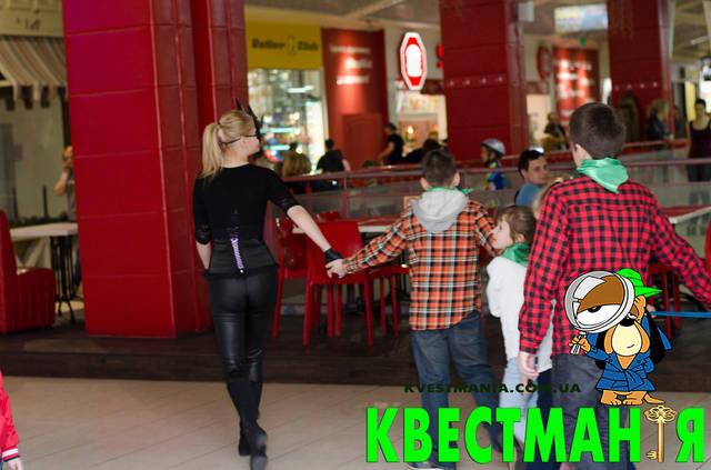 """""""Бэтмен и Женщина Кошка"""" Приключенческий квест для детей 3"""