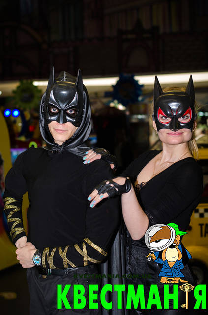 """""""Бэтмен и Женщина Кошка"""" Приключенческий квест для детей 7"""