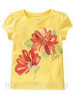 Детская футболка для девочки  2 года