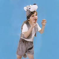 Детский костюм меховой Волк