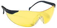 Очки спортивные прозрачные желтые STYLUX