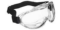 Очки закрытого типа прозрачные с непрямой вентиляцией KEMILUX