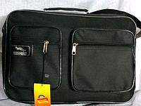 Мужская сумка через плечо Wallaby черного цвета