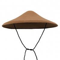 Шляпа Коричневый грибок