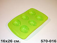 Форма для выпечки силиконовая Пасхальные яйца 260Х160 мм 570-016