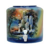 Диспенсер керамический «Водопад синий»