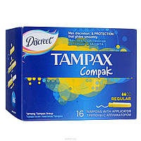 Тампоны Tampax Compak Regular 16шт