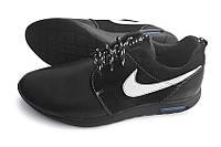 Кожаные кроссовки Nike Black Star 46,47,48., фото 1