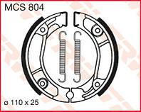 Тормозные колодки на мотоцикл Honda TRW / Lucas MCS804