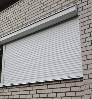 Наружные рольставни на окна Economy