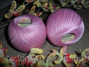 YarnArt Lily  (Ярнарт Лили) 100% мерсеризованный хлопок 5046 розовый лед
