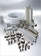 Трубы металлопластиковые, фитинги и краны
