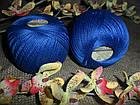 YarnArt Lily  (Ярнарт Лили) 100% мерсеризованный хлопок 4915 эллектрик