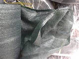 Затіняюча сітка ш 3,2 м, пл. 60, затінення до 80%, фото 5