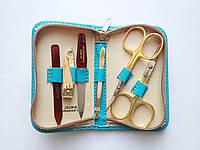 Набор инструментов для маникюра GLOBOS 701-9G Blue