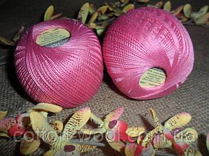 YarnArt Lily  (Ярнарт Лили) 100% мерсеризованный хлопок 5001 ярко-розовый