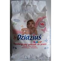 Детский стиральный порошок Dzidzius color 3кг без фосфатов Польша