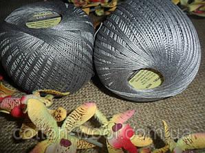YarnArt Lily  (Ярнарт Лили) 100% мерсеризованный хлопок 5326 серый
