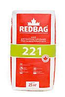 Клей для пенополистирола и минеральной ваты 221 Redbag 25 кг