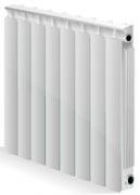 Биметаллический радиатор Алтермо ЛРБ 500/80 , фото 1