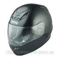 Мотошлем интеграл MTR S-7 Black Metallic, XS