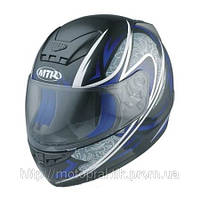 MTR S-7 Graphic Black/Blue, XS Мотошлем интеграл