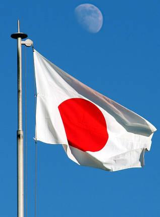 Национальный флаг Японии 90х150см , фото 2