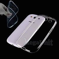 Прозрачный силиконовый чехол для Samsung Galaxy S3 (i9300), фото 1