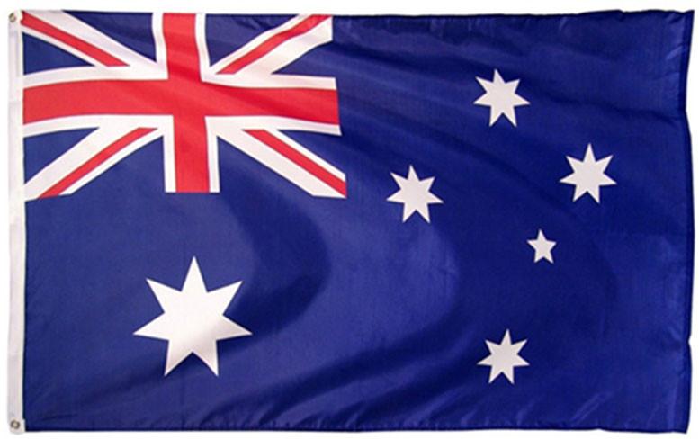 Национальный флаг Австралии 90х150см