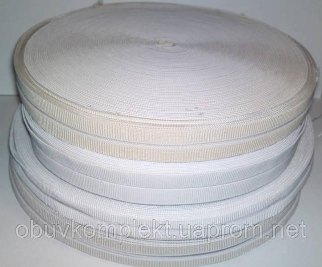 Резинка под пряжку 1,5 см. цв.белый