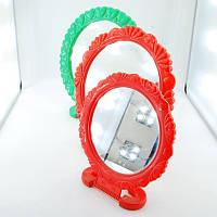 Зеркало настольное косметическое пластмасовое в форме ромашки оптом.