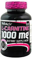 Жиросжигатель BioTech L-carnitine 1000 mg (30 таб)