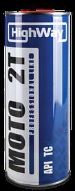 Масло двухтактное HighWay 2Т ТС 1л