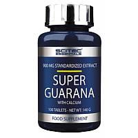 Энергетический препарат Scitec Nutrition Super Guarana with calcium (100 таб)