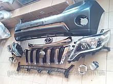 Рестайлинг обвес на Toyota Land Cruiser Prado 150