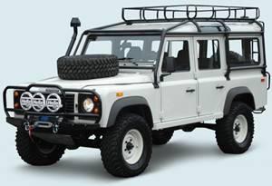 Тюнинг Land Rover Defender 110 1990+